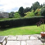 Mews sunny south facing garden